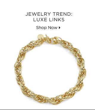 Jewelry Trend: Luxe Links