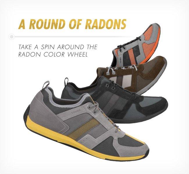 A ROUND OF RADONS - TAKE A SPIN AROUND THE RADON COLOR WHEEL