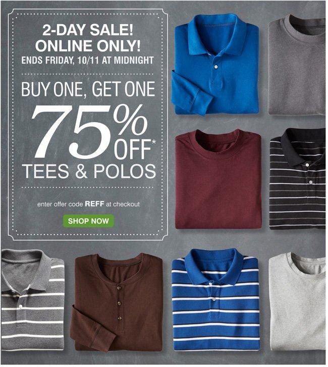 Shop Select Polos & Tees