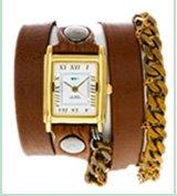 Moscow Braided Chain Wrap Watch