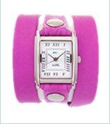Pony Pink Wrap Watch