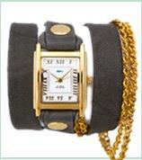 Gold Vintage Double Chain