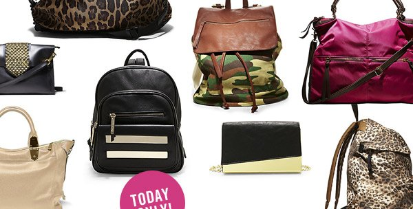 Quickie Thursday! 30% OFF Our Most Wanted Handbags! Today Only! Shop Now