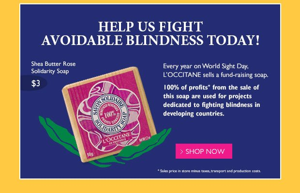 Help Us Fight Avoidable Blindness Today!