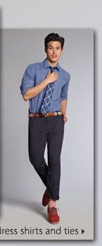 Izod® pants, dress shirts and ties.