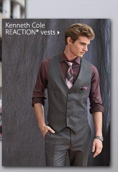 Kenneth Cole REACTION® vests.