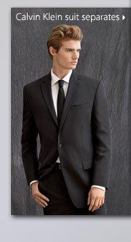 Calvin Klein suit separates.