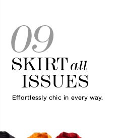 09 SKIRTS ALL ISSUES