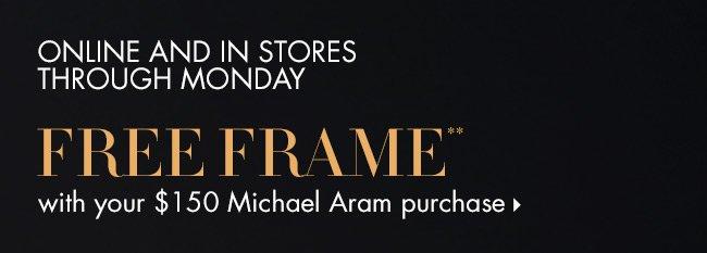 FREE Michael Aram Frame!