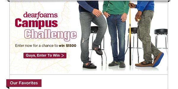 Dearfoams Campus Challenge