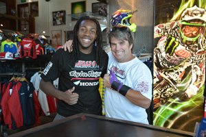 Malcolm Stewart and Troy Lee