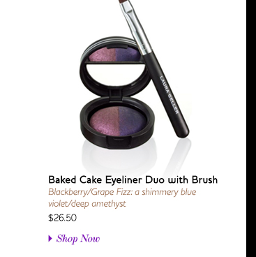 Baked Cake Eyeliner Duo with Brush