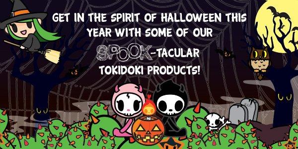 Happy Halloween from tokidoki!