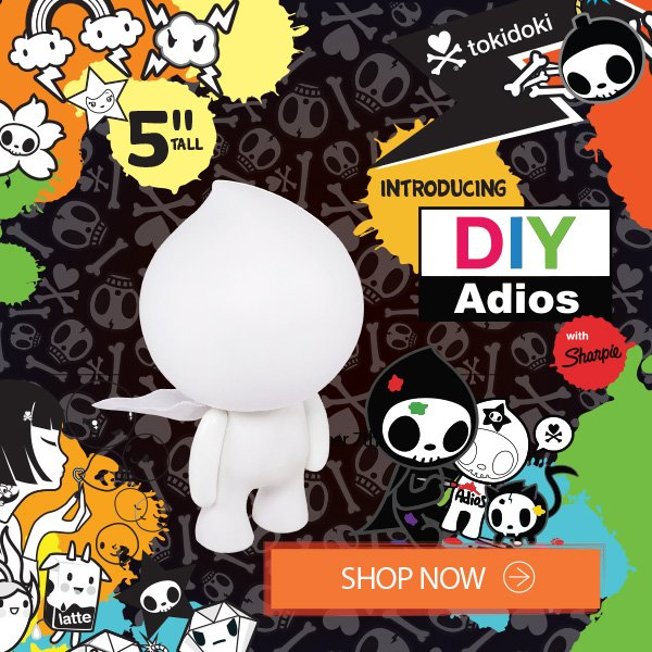Get in the spirit of Halloween this year with some of our spooktacular tokidoki products!