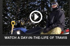 Watch a day-in-the-life of Travis