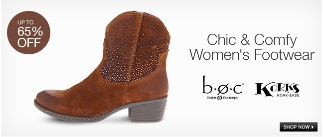 Chic and Comfy Women's Footwear
