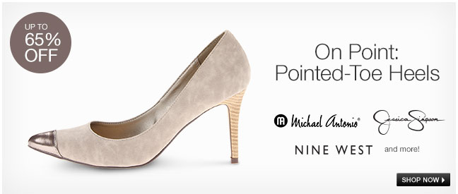On Point: Pointed-Toe Heels