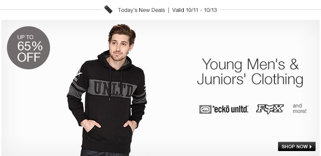 Young Men's and Juniors Clothing