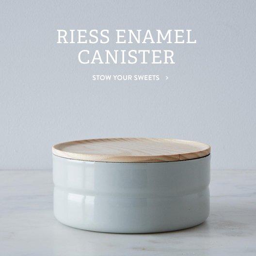Enamel Canister