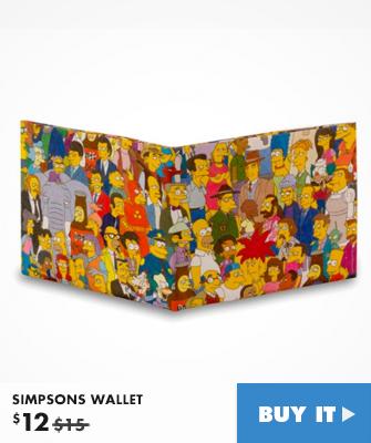 Simpsons Wallet