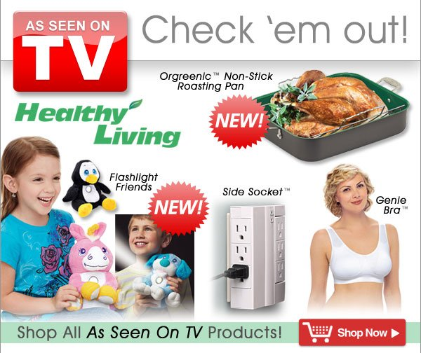 As Seen on TV products! - Shop Now >>