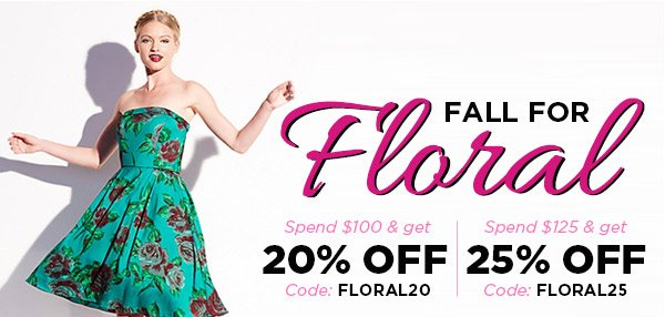 Fall for Floral!