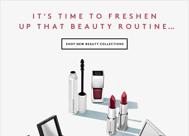 Introducing the latest finds from our cosmetics team: Givenchy Beauty, Surratt, MAKE, and more.