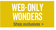 WEB-ONLY WONDERS