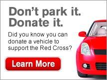 Don't park it. Donate it.