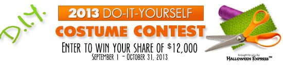 The 2013 DIY Costume Contest.  Click For Details