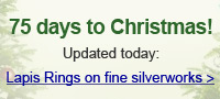 Lapis Rings on fine silverworks