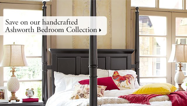 Save on our handcrafted Ashworth Bedroom Collection