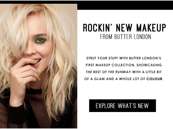 NEW! Rock Your Colour Collection from Butter LONDON