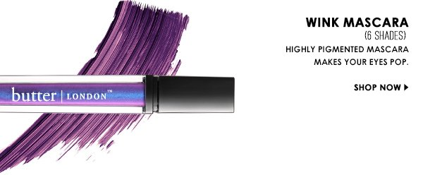 New highly pigmented mascara makes your eyes POP!