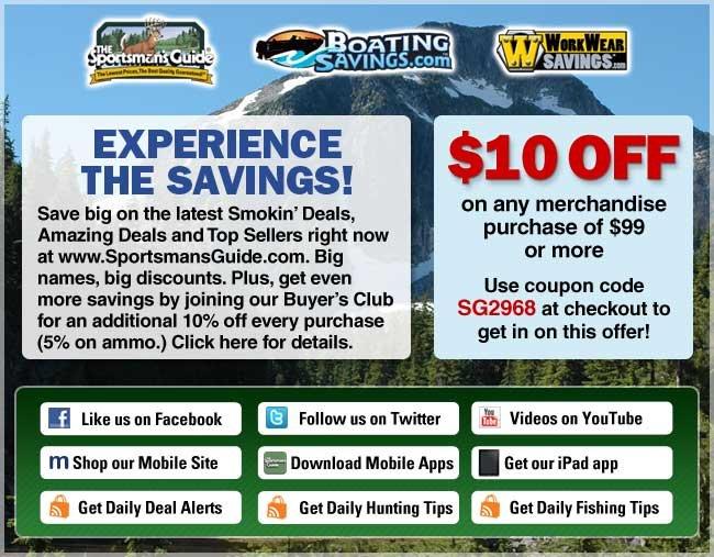 Sportsmansguide coupon code