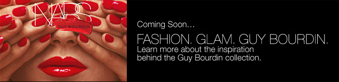 Learn more about the inspiration behind the Guy Bourdin collection.