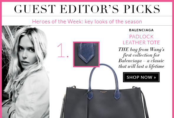 GUEST EDITOR'S PICKS