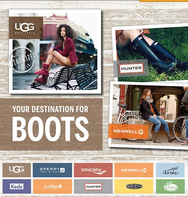 Your Destination for Boots
