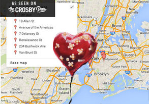 Shop This Handy Google Map Will Help You Find All Of Banksys NYC Pieces