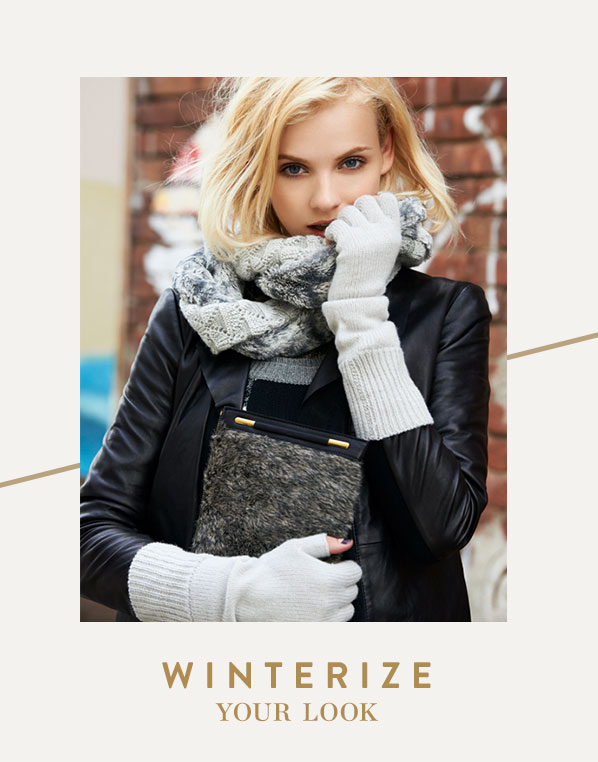 WINTERIZE YOUR LOOK
