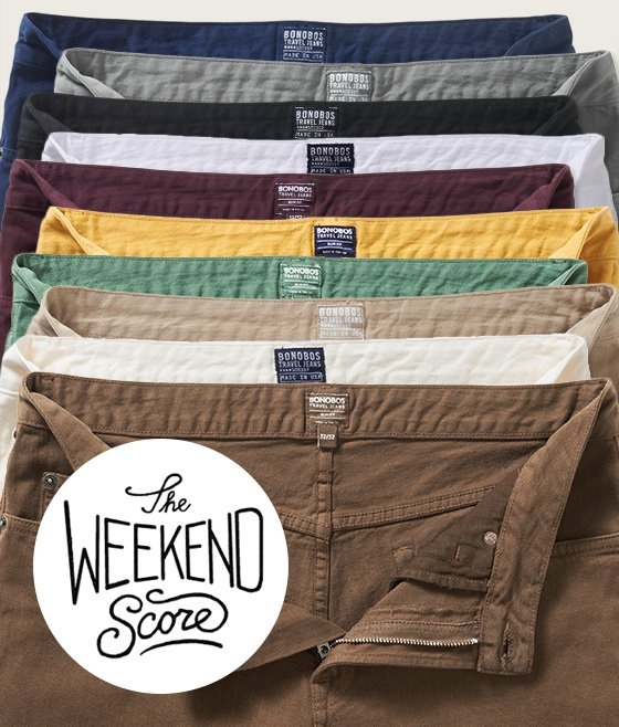 $20 off Travel Jeans