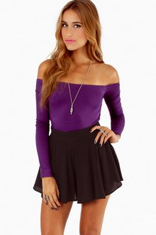 BARELY THERE OFF SHOULDER TOP 22