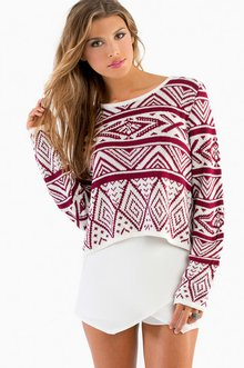 IVY CROPPED SWEATER 43