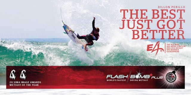 Dillon Perillo - The Best Just Got Better - Flash Bomb Plus - The World's Fastest Drying Wetsuit