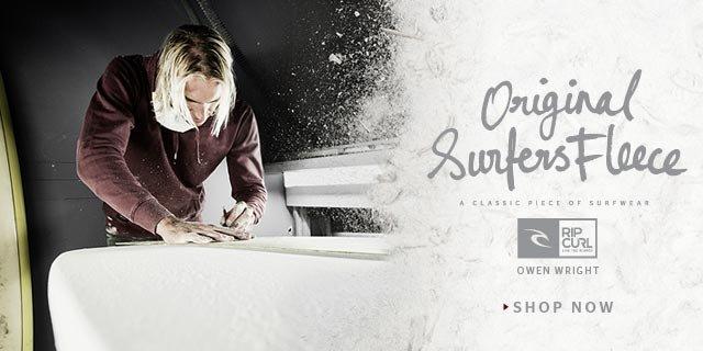 Surfer's Original Fleece - Owen Wright - Shop Now