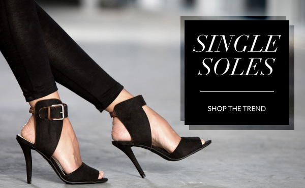 Shop Fall's Hottest Trend: Single Soles