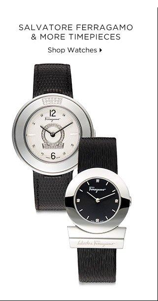 Salvatore Ferragamo & More Timepieces