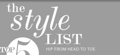 The Style List