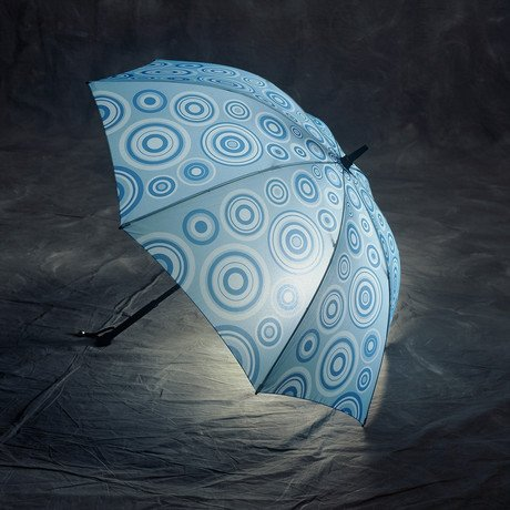 Ripple Effect Lighted Umbrella