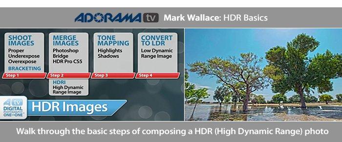 HDR Basics From AdoramaTV